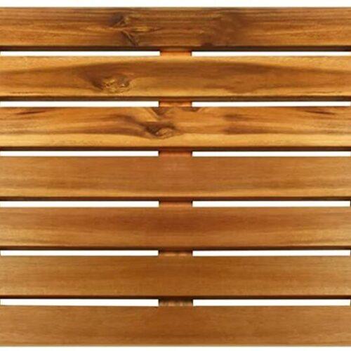 Acacia Wood Shower Floor