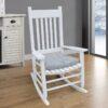 White Indoor Rocking Chair