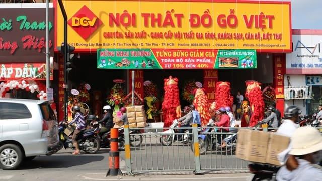 Do go Viet Furniture Store in Ho Chi Minh, Viet Nam
