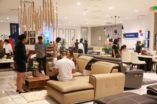 Kims Fullhouse Furniture Showroom in Ho Chi Minh City