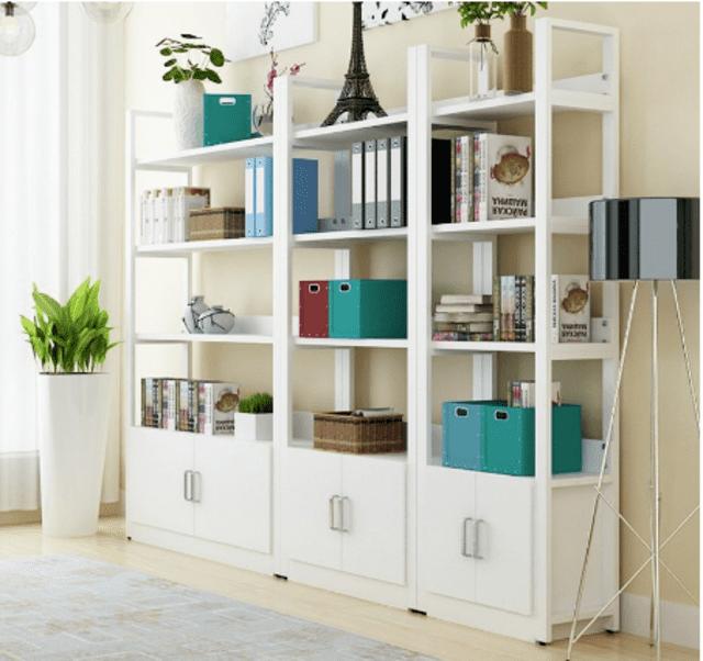 Piron office bookshelf